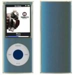 CUSTODIA SILICONE PER MP3 IPOD NANO A/MPC-N4SW QUARTA GENERAZIONE BIANCA TRASPARENTE