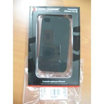 CUSTODIA X APPLE IPHONE4 SCP80001 SWISS CHARGER MODELLO RIGIDO
