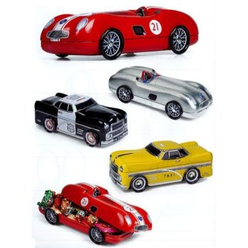SCATOLE IN METALLO OLD CARS 26