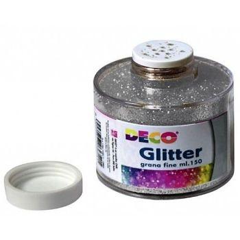 GLITTER BARATTOLO ML.150 ARGENTO