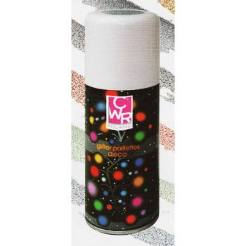 GLITTER SPRAY ML.150 MULTICOLOR