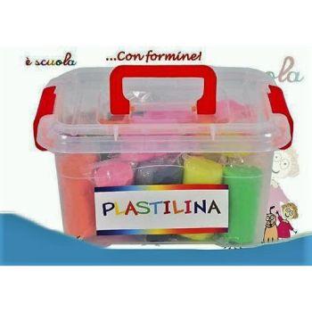 PLASTILINA BAULE 900GR 26PZ 21X9X11CM +3