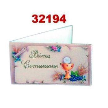 BIGLIETTI BOMBONIERA COMUNIONE A 20