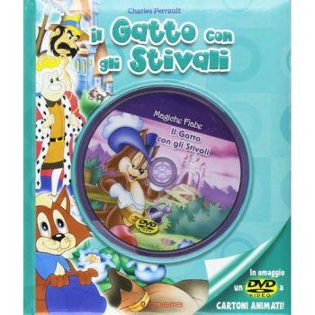 MAGICHE FIABE + DVD3 - GATTO CON STIVALI NON IMP. ART.74   20X23