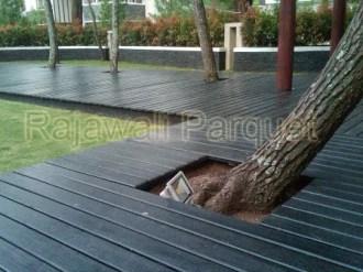 lantai decking kayu