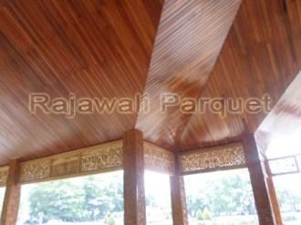 lumber ceiling terpasang