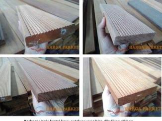 harga lantai kayu outdoor Decking bengkirai 23