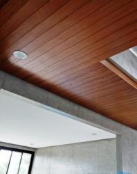plafond kayu