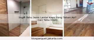 lantai kayu tahan air