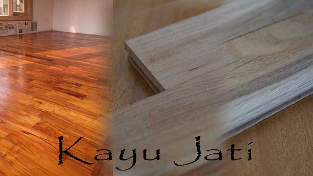 Karakteristik Kayu Jati
