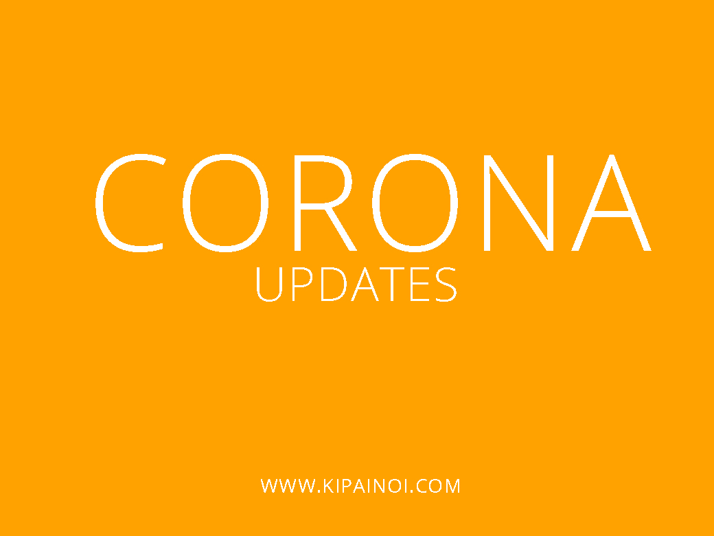 Corona: What's new Locally and Internationally