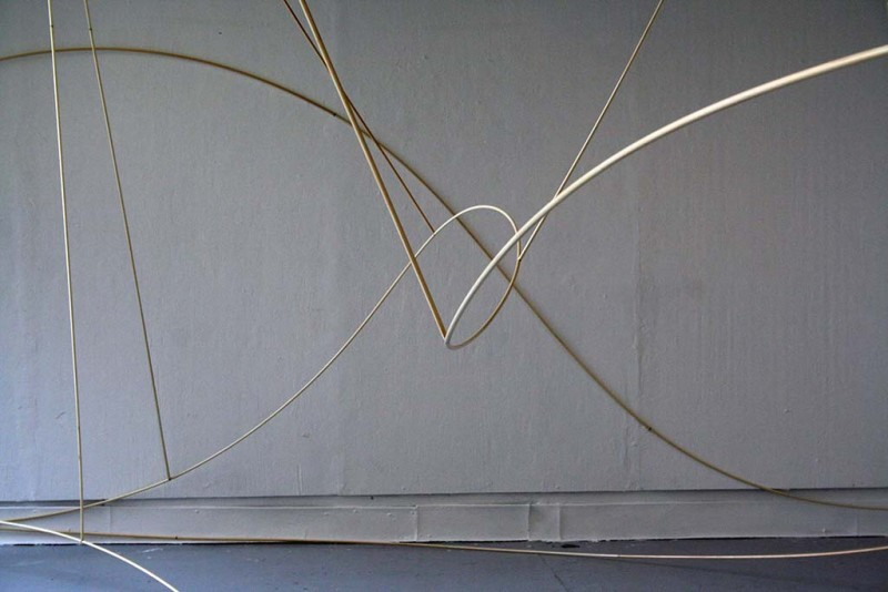 2010, wood, metal and magnets, dimensions varible