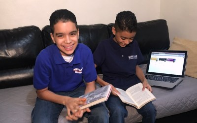 From Math to Mingus: A Day in the Life in Daniel's Remote Learning