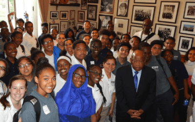 "KIPP Students and Teachers Get a Lesson in ""Good Trouble"" from John Lewis"