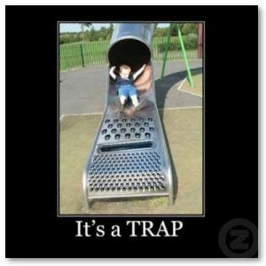 traps in recovery
