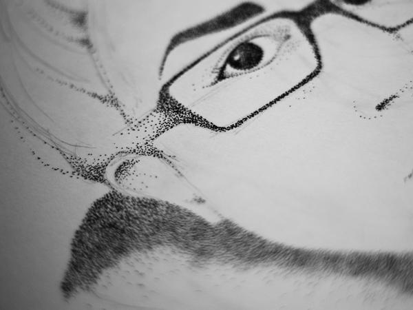 Selvportræt   Illustration af Kira Bang-Olsson