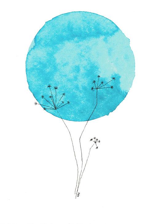 Bloom #3 - Illustration by Kira Bang-Olsson