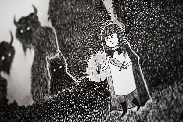 Detail of illustration by Kira Bang-Olsson