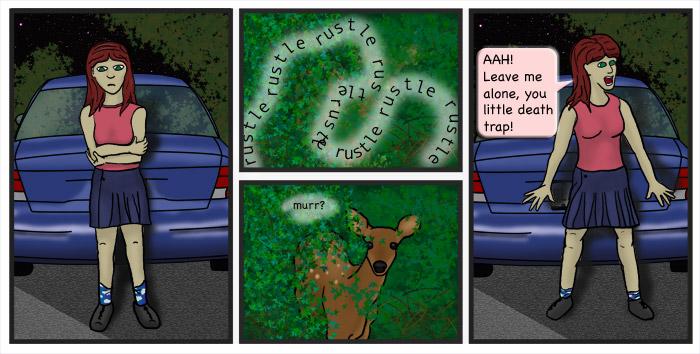 deer attack?