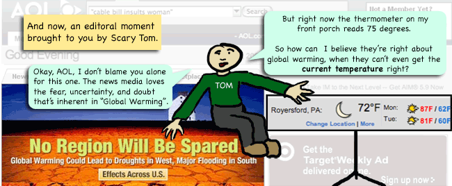 scary tom's take on global warming