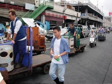 Carritos del Tsukiji