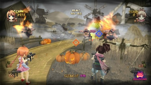 Zombie Panic in Wonderland