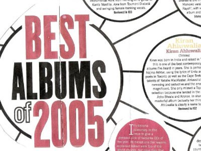 Songlines Best of 2005