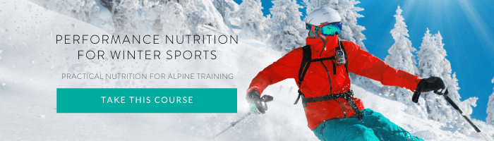 Winter Sport Nutrition Online Course B1