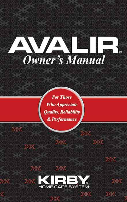 Download the Kirby Avalir Owner Manual.