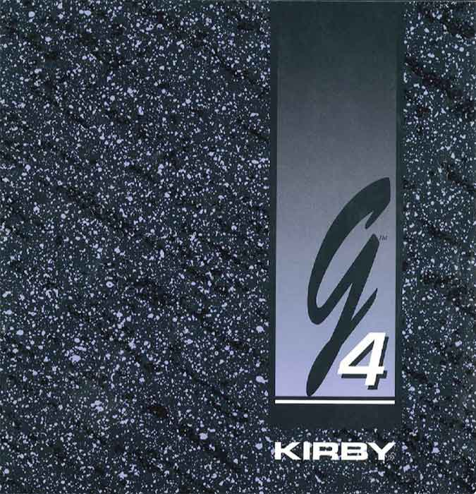 Download the Kirby G4 Owner Manual.
