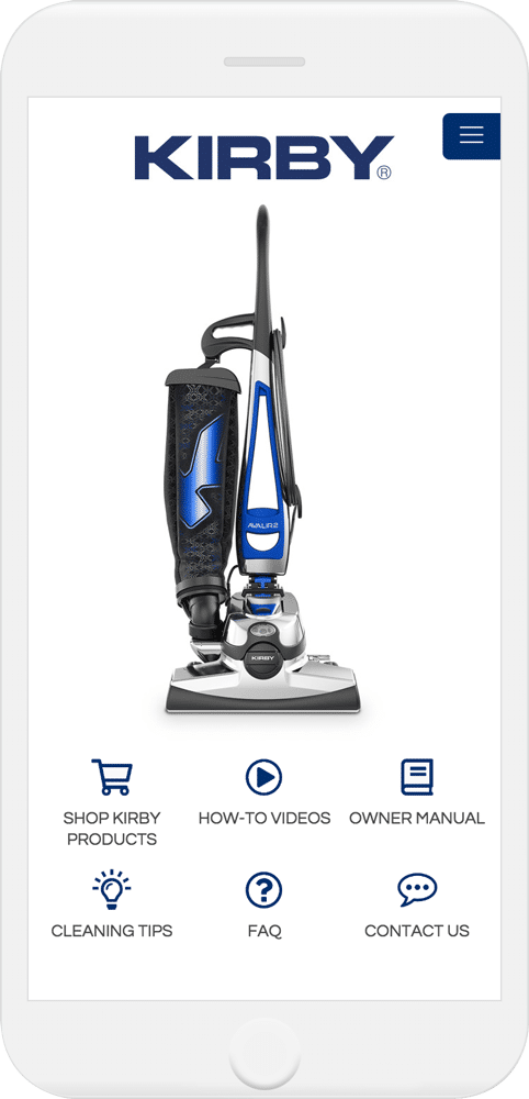 The Kirby Vacuum Owner Resource is the easiest way to watch how-to videos, view owner manuals and more!