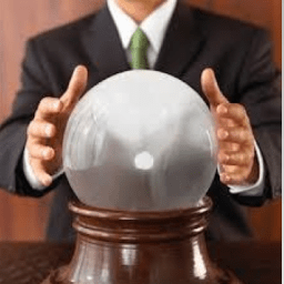 The Mayor looks into the Crystal Ball