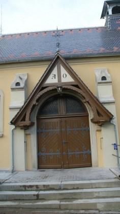 Kapelle Bernstadt - nach außen 8