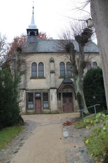 Kapelle Bernstadt - vor außen 6