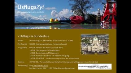 Flyer Bundeshaus