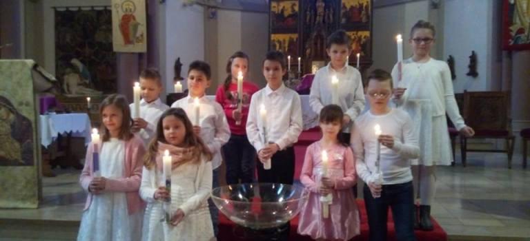 Tauferneuerung der Kommunionkinder 2018