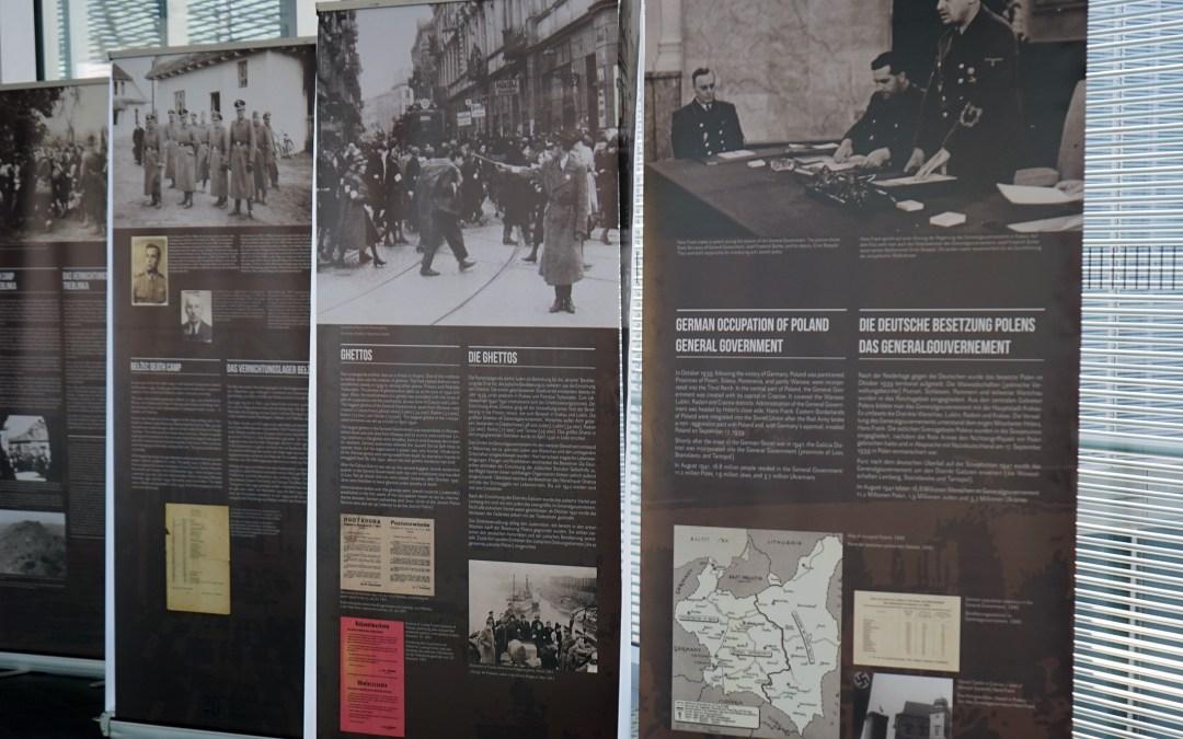 """Ausstellung in St. Simeonis: """"Aktion Reinhardt – sie kamen ins Ghetto und gingen ins Unbekannte"""""""