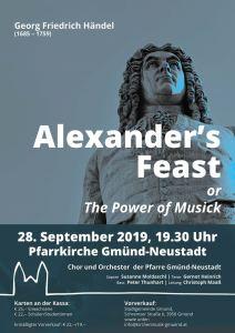 """""""Alexander's Feast"""" - Oratorium von G. F. Händel @ Herz Jesu Kirche"""