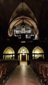 Orgel vor der Fertigstellung