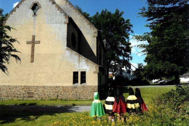 Kirche Biodiversität Dünne