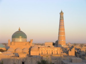 The great cities on the Silk Road