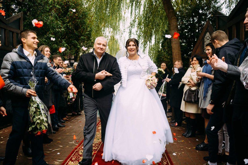 Фотосессия свадебной церемонии