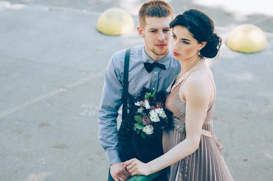 Свадьба в ретро стиле