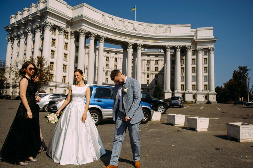 Здание министерства иностранных дел свадьба