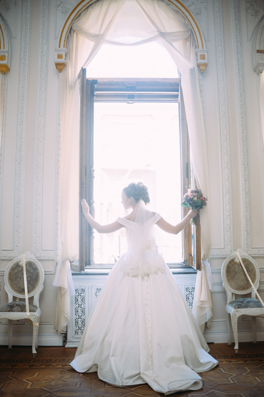 Свадебная фотосессия в Шоколадном домике