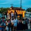 旅人さんのお出かけ中に鷲津の祭りを見物