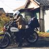 九州へ向かう途中のライダーさん