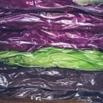 羽毛布団の衣替え