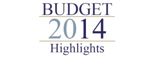 Budget 2014 highlights