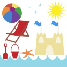 seaside-beach-holiday-clipart